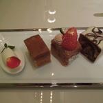 パブロフ - ケーキセットについてくるパウンドケーキ3種