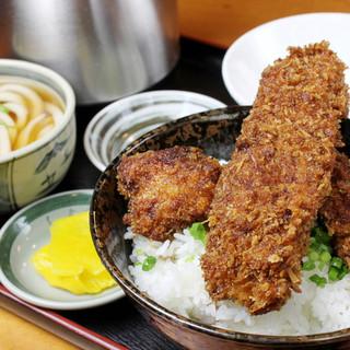 ◆醤油カツ丼