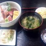 たぬき - 海鮮丼