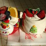 フィーユ・ダンジュ - 料理写真:Xmas ケーキ