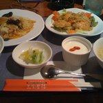 三宝茶楼 - 料理写真:ランチセット