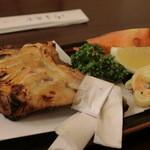 釜めし春 - 鶏モモ焼き
