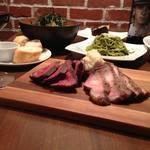 The Burg&Burger JiRi - 熟成肉Beef&Porkコース