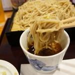 桃李庵 - 国産の蕎麦、細く打たれています、味・香り・こし共に良し