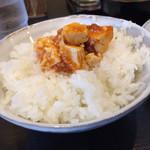 33104883 - 麻婆豆腐オン・ザ・ライス