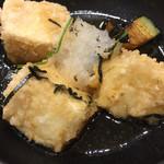 沼津魚がし鮨 - 揚げ出し豆腐
