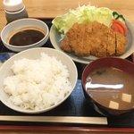 大須食堂 おおもり - 極上味噌かつ定食 ¥1706