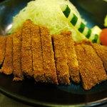 牛かつ おか田 - ロースかつ定食