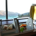 Top of Rokko - 料理写真:生ビールとオードブルセット