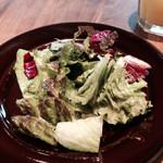 ロイヤルガーデンカフェ - ランチセットのサラダ
