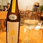 トラットリア・アルモ - 新政 貴醸酒 陽乃鳥(2014年11月)