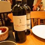 トラットリア・アルモ - ご主人チョイスの赤ワイン(2014年11月)