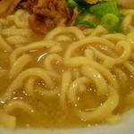 33111539 - 麺UP(豚骨ラーメン)