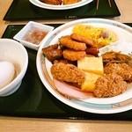 ビジネスホテル高見 - 料理写真:朝食バイキング