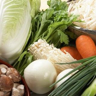 厳選された国産野菜を煮込んで