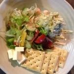 やきとり鳥花 - 自家製ポテトサラダ