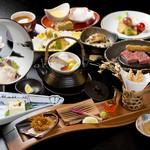 花ざしき和香 - 料理写真:誕生日にはスペシャルデザートをプレゼント、特別な日のお祝いに