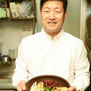 韓国の本場の味を伝えたくて。