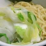 麺屋 らいこう - 温野菜トッピング 100円