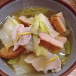 33118152 - 県農白菜と豚バラのうま煮