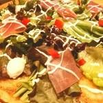 坐・和民 - 生地薄くて美味しいピザ