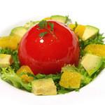 セレブ・デ・トマト - 完熟トマトサラダ
