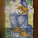 ラ・ベルデ - 授乳の聖母のタイル