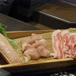 銀座スープカレー菜時記 - 夜メニューのカレー鍋のお肉