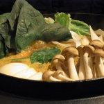 銀座スープカレー菜時記 - 夜メニューのカレー鍋
