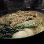 銀座スープカレー菜時記 - カレー鍋 熱々~