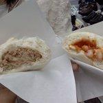 上海肉まん - 肉ぎっしり、海老どっさり