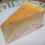 パティスリーコリウール - ベイクドチーズケーキ
