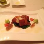 33123979 - メインその1、お魚料理。