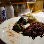 ダン・ドゥ・リヨン - 小鴨のステーキ