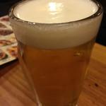 鳥貴族 - ビール