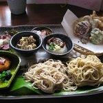 筑前茶屋 - 料理写真:御膳全体の写真です。