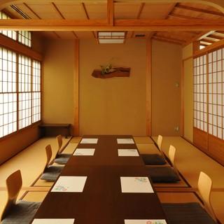 会席や顔合わせにおすすめのゆったりとおくつろぎ頂ける座敷個室