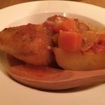 ぺりかん - チキンのトマト煮込み