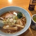 近江家 - ら〜麺550円税込 渋茶がいいんだな。