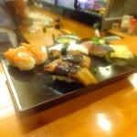 鮨処 道楽 - 鰻、赤貝、タコ    2014 Jun 28