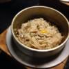 五頭の山茂登 - 料理写真:141202 釜飯(舞茸)