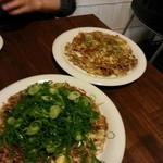 Okonomiyakiandotempanyahibiki - 2014.11.24訪問:日々来焼き&豚玉