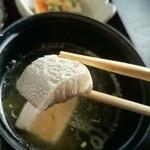 海賊亭 - 白身の魚の味噌汁でした~。(2014/11)