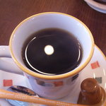 オールドフレンズ - セットのホットコーヒー