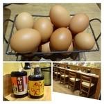 たまごかけごはん屋 あかね農場 - つまんでご卵は食べ放題。