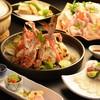 松屋 - 料理写真:わたりがにとフグのコラボ企画