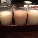 焼肉トラジ - 利きマッコリ(¥620)