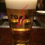 焼肉トラジ - 生ビール(¥620)