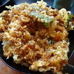 魚料理みうら - ジャンボかき揚げ天丼