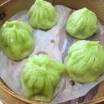 上海豫園 - ヒスイ小籠包